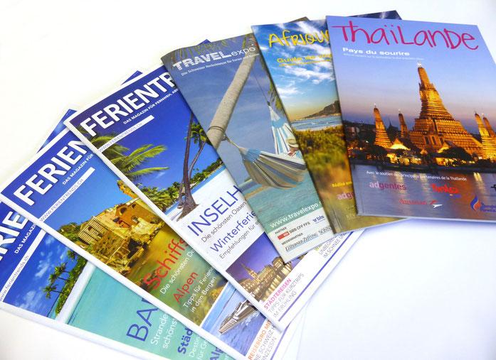 Aktuelle Publikationen des Tourismus Lifestyle Verlag
