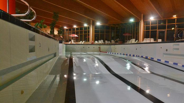 Staßfurt Schwimmbad stöpsel des schwimmbades im salzlandcenter staßfurt gezogen