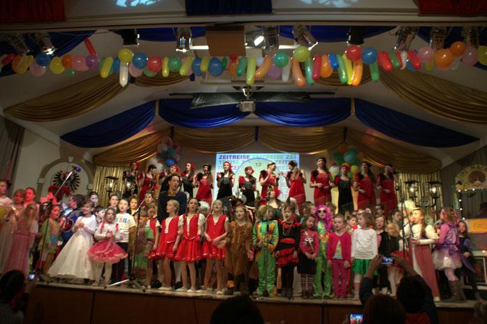 Das Finale beim Kinder- & Jugendkarneval