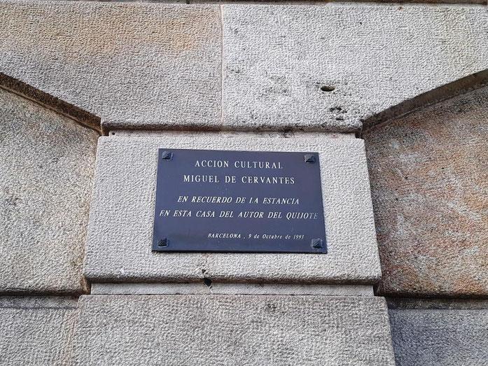 Дом в Барселоне, где жил Мигель Сервантес