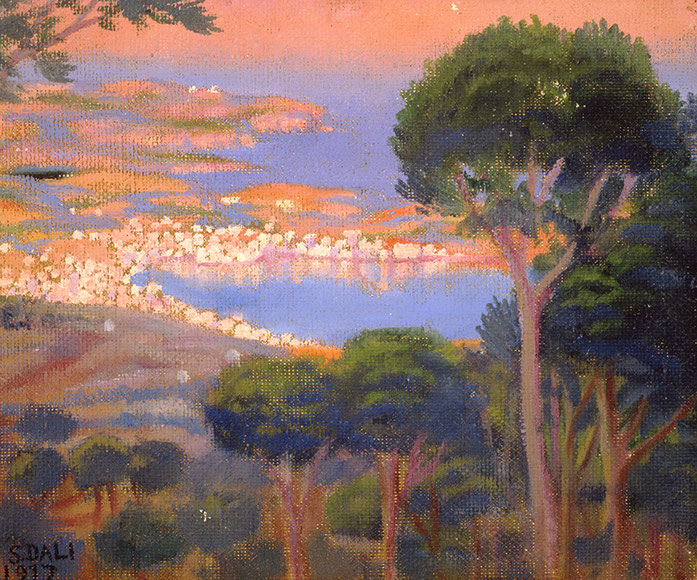 Вид Кадакеса с тенью горы Пани