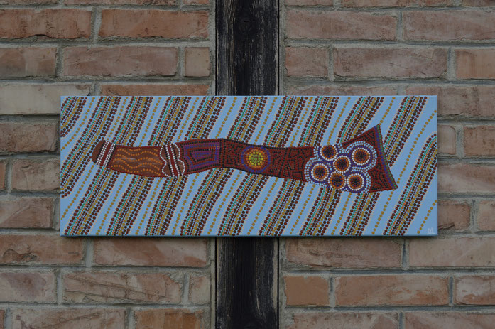 DIGERIDOO   (80 x 30 cm)  € 220.-