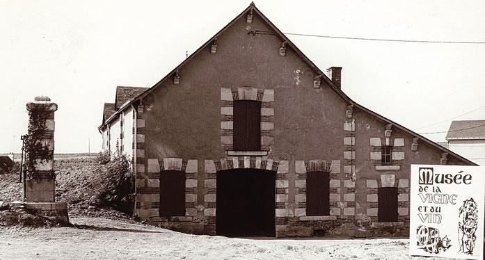 Le bâtiment du Musée à ses débuts