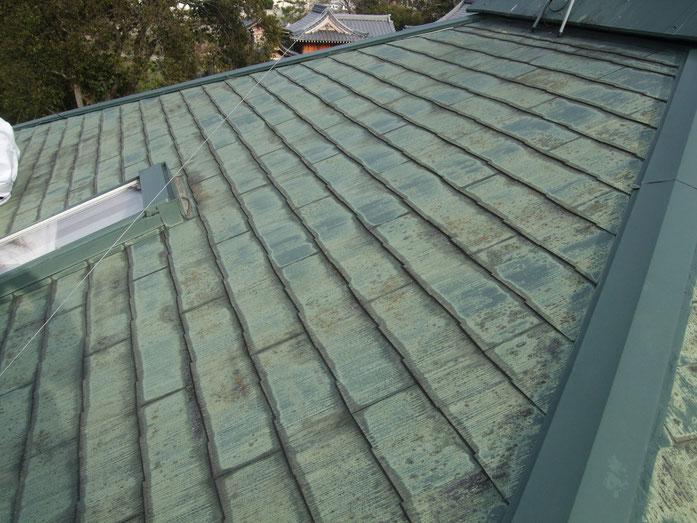 大垣市長松町 屋根塗装 工事前 養老町の屋根塗装専門店エイトリハウス