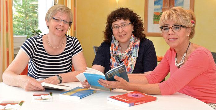 Karola Rehrmann, Karin Leutbecher,  Annegret Müller,  hauptamtliche Koordinatorinnen des AHPD