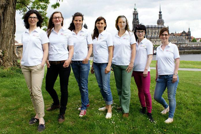 Beraterinnen und Kursleiterinnen von EINFACH ETERN Dresden