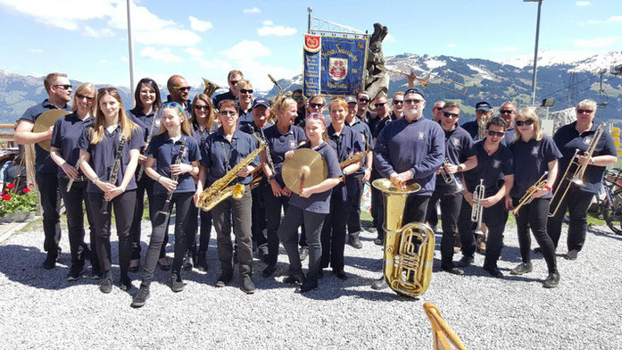 Mai 2016: Musikzug on Tour in Kirchberg (Tirol)