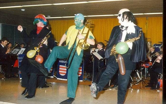 """1987: Die Drei von der """"Muppet Show"""": Reiner Willke, Michael Kreipe, Annette Kreipe (v.l.)"""