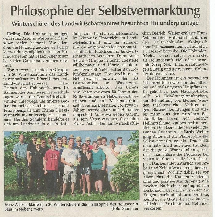 Landauer Zeitung vom 20. Juni 2015
