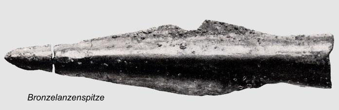 Bronzelanzenspitze