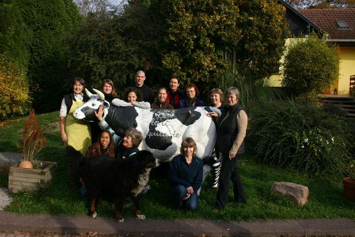 Photo de l'équipe de la Ferme Durr