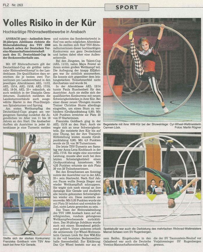 Fränkische Landeszeitung vom 14.11.2018 - Westmittelfranken