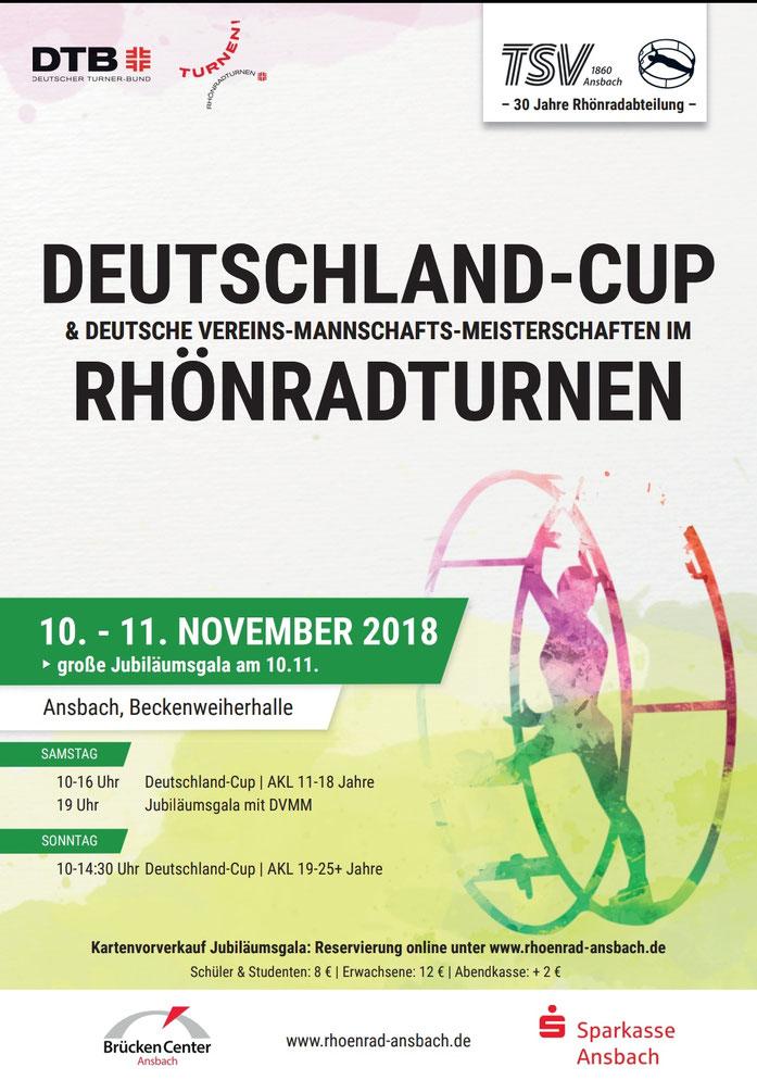 """Für weitere Infos bitte auf das Bild klicken oder ganz oben auf """"Deutschland Cup 2018"""""""