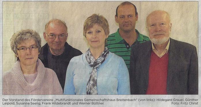 Vorstand Förderverein 2015