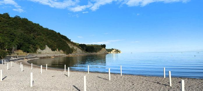 Isola, spiaggia San Simon