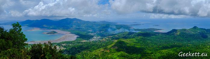 Vue depuis le Mont Choungi