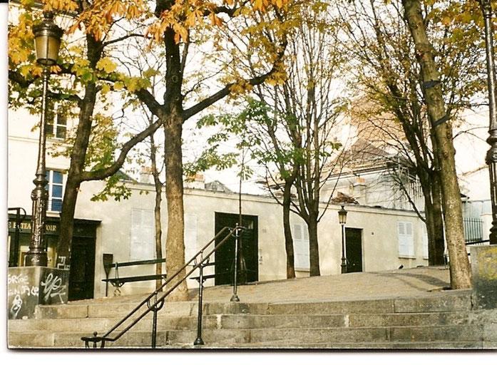 Bateau-Lavoir, Montmartre, Paris
