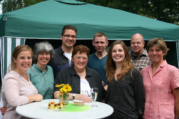 Wie schön ist es, so eine tolle Familie zu haben! Danke!