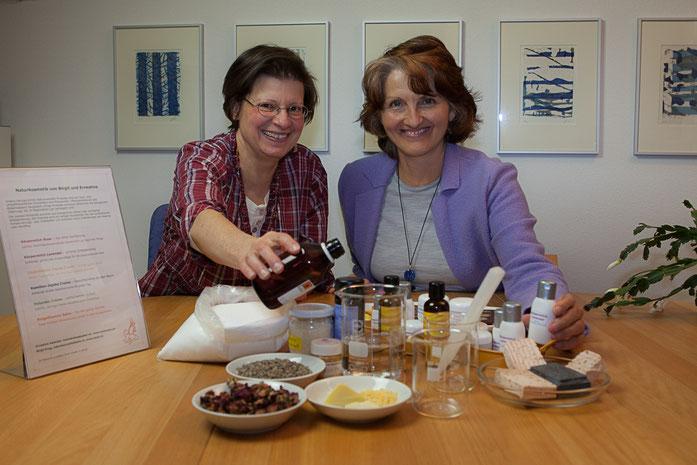 Ernestine Astecker und Birgit Krug