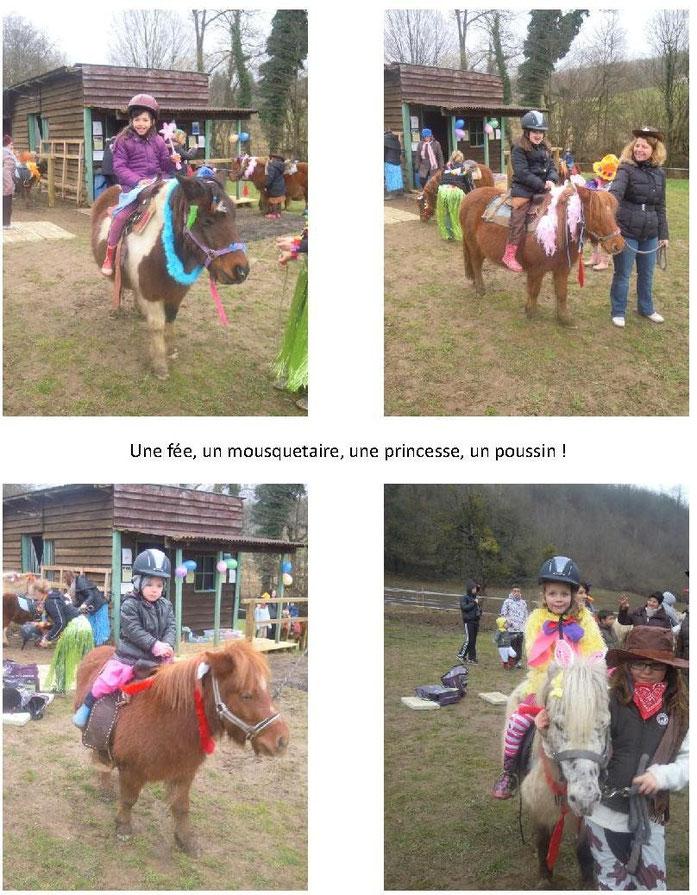 Carnaval des poneys 2015 Cheval pour Tous en Chambaran