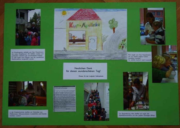 Besuch der Klasse 2b der Luitpold-Volksschule Bad Aibling