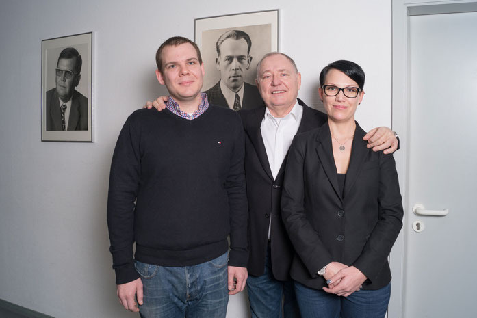 Philipp, Albert und Aline Glosse
