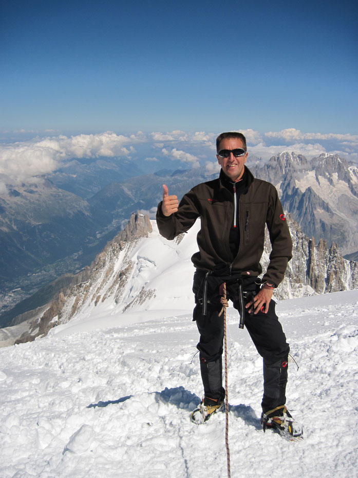 Summit Mont Blanc