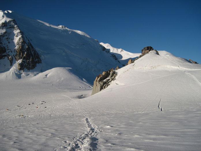 Vallée Blanche met de Refuge Cosmique