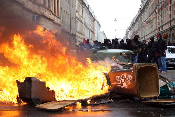 "Antifa-""Demonstration"""