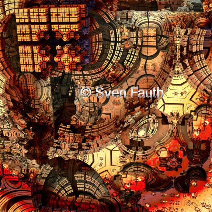 3D Mandelbulb - Fraktale Kunst © Sven Fauth