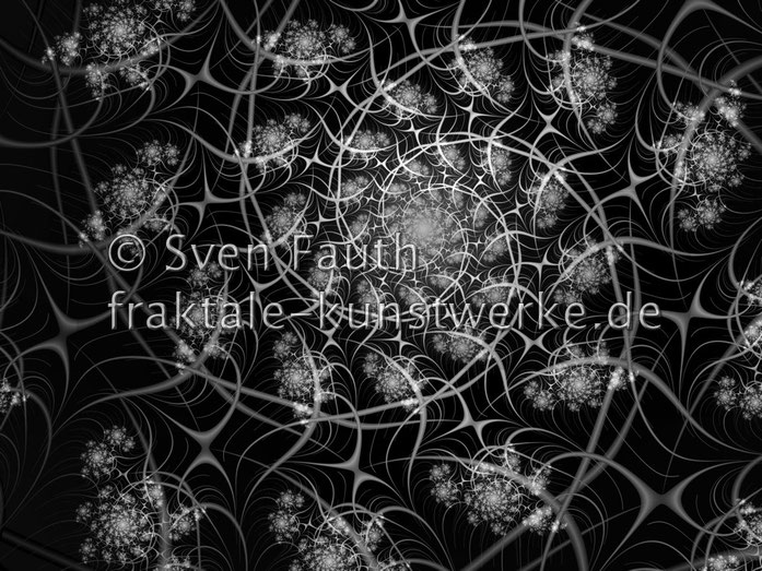 © Sven Fauth - Fraktale Kunst - Black & White no.1