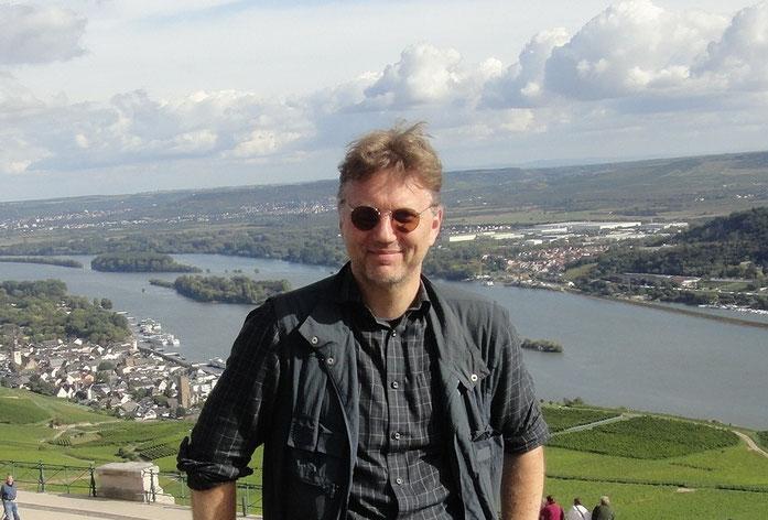 Wanderung auf dem Rheinsteig: Am Niederwalddenkmal
