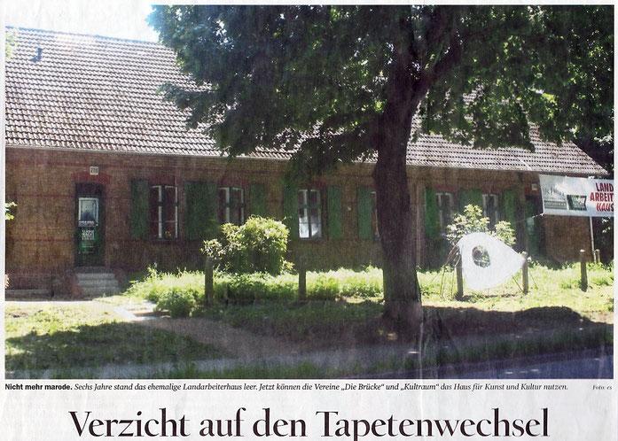 Landarbeiterhaus Zehlendorf - Restauratorin Elka Beutel