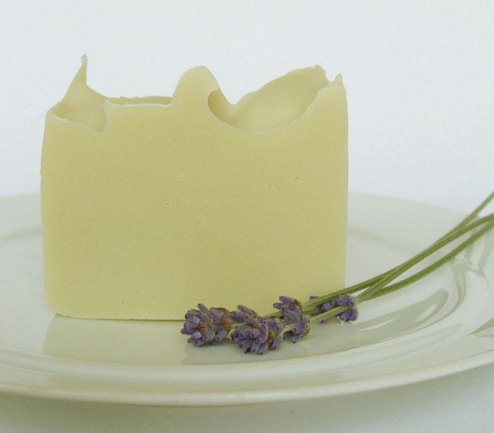 Olivenöl-Lavendel Naturseife - Naturseifen & Wellness-Shop