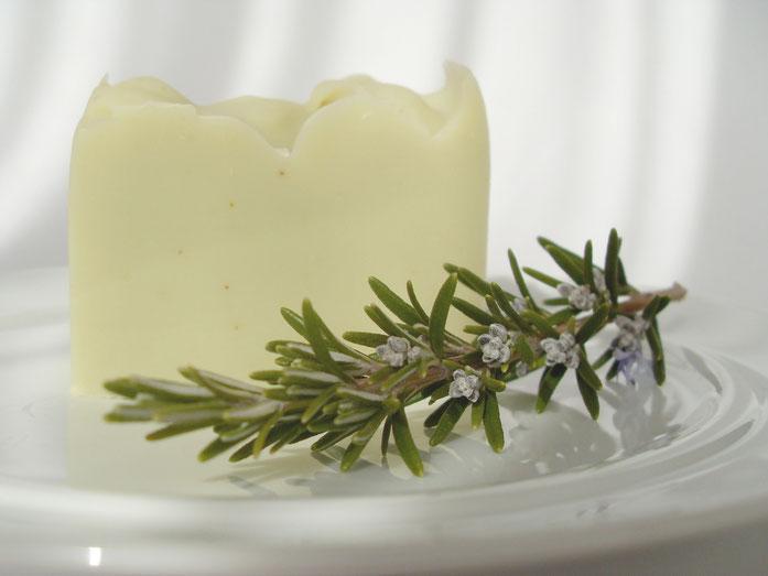 Olivenölseife mit Rosmarin - Naturseifen und Wellness-Shop