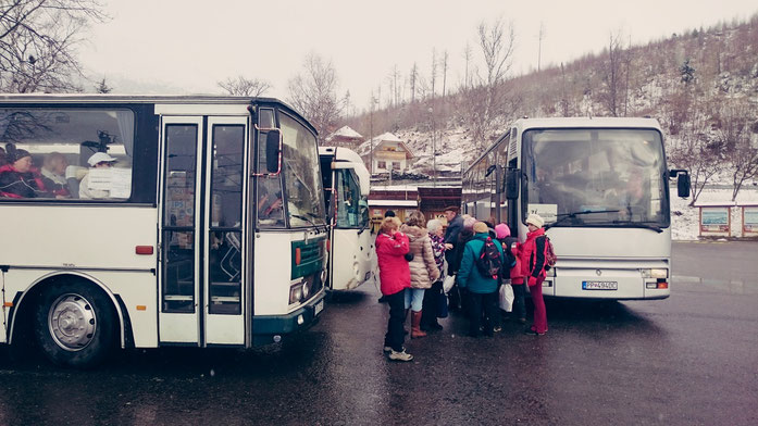 SEV-Bus in Stary Smokovec