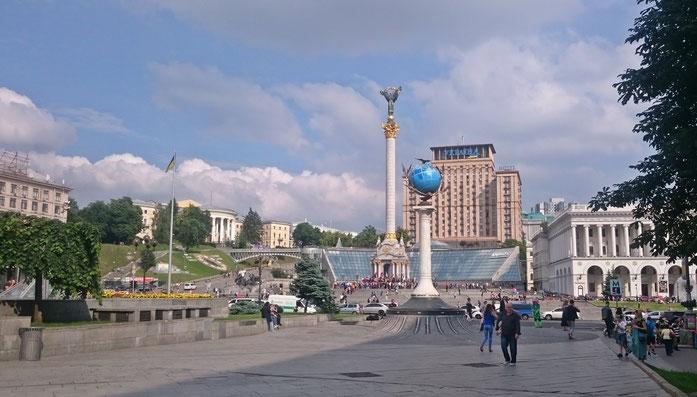 Majdan, Kiew