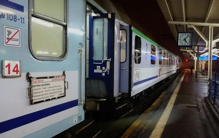 Winterliches Polen Reisen Mit Der Eisenbahn