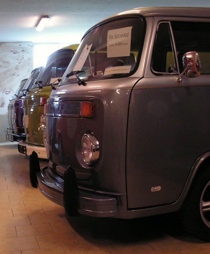 Bullis im VW-Museum bei Danzig