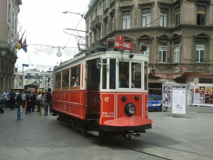 Straßenbahn in Istanbul