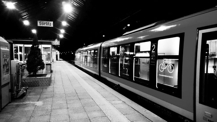 RE aus Breslau im Bahnhof Görlitz