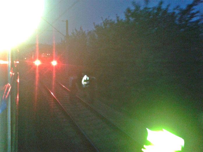 Streckensperrung vor Krakau