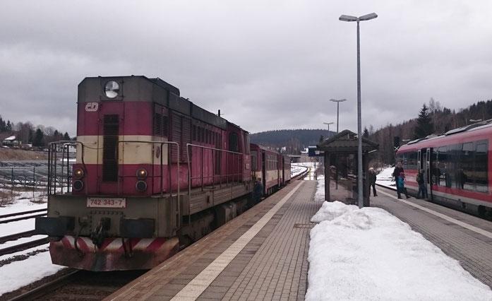 Transistorenabschied in Johanngeorgenstadt