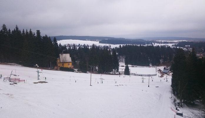 Skihang in Nové Hamry