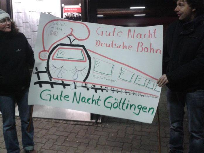 Protest in Göttingen