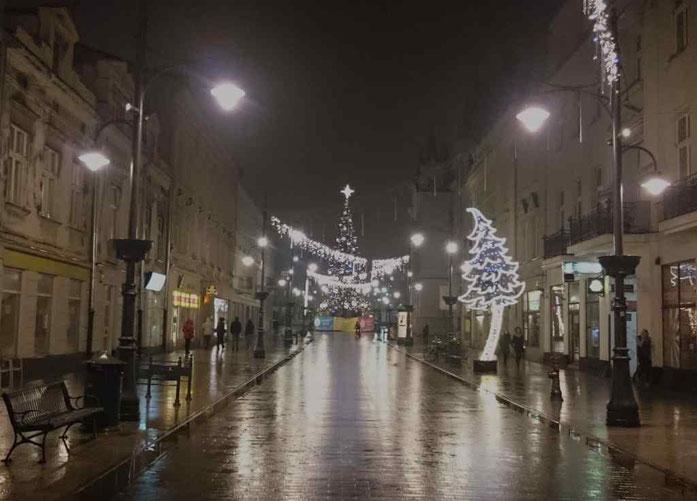 der längste Boulevard Europas in Lodz