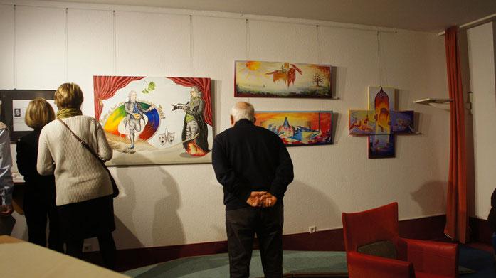 Ausstellung in Bad Klosterlausnitz Moritz-Klinik 2015