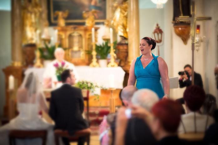 Hochzeitssängerin Sabine
