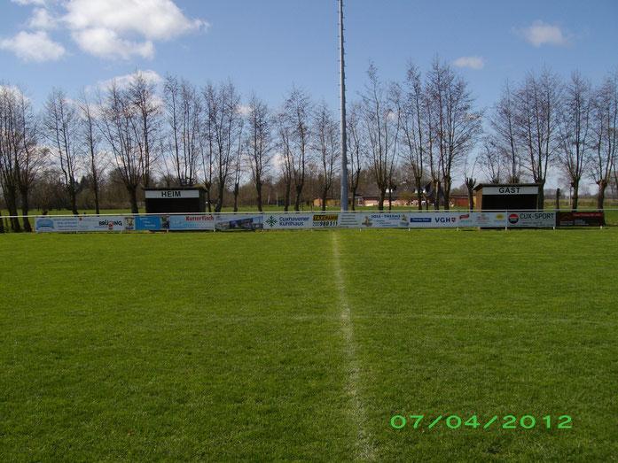 Der Sportplatz in Neuenkirchen