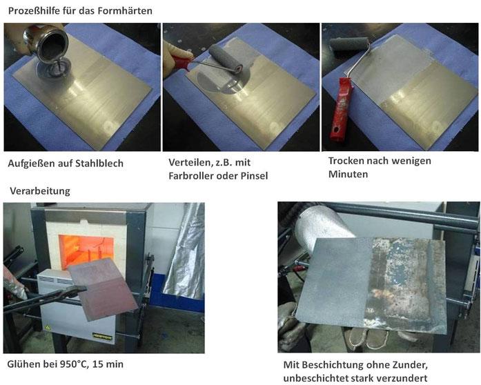 Zunderschutz zum Selberauftragen für Teilebeschichtung und Prototypen